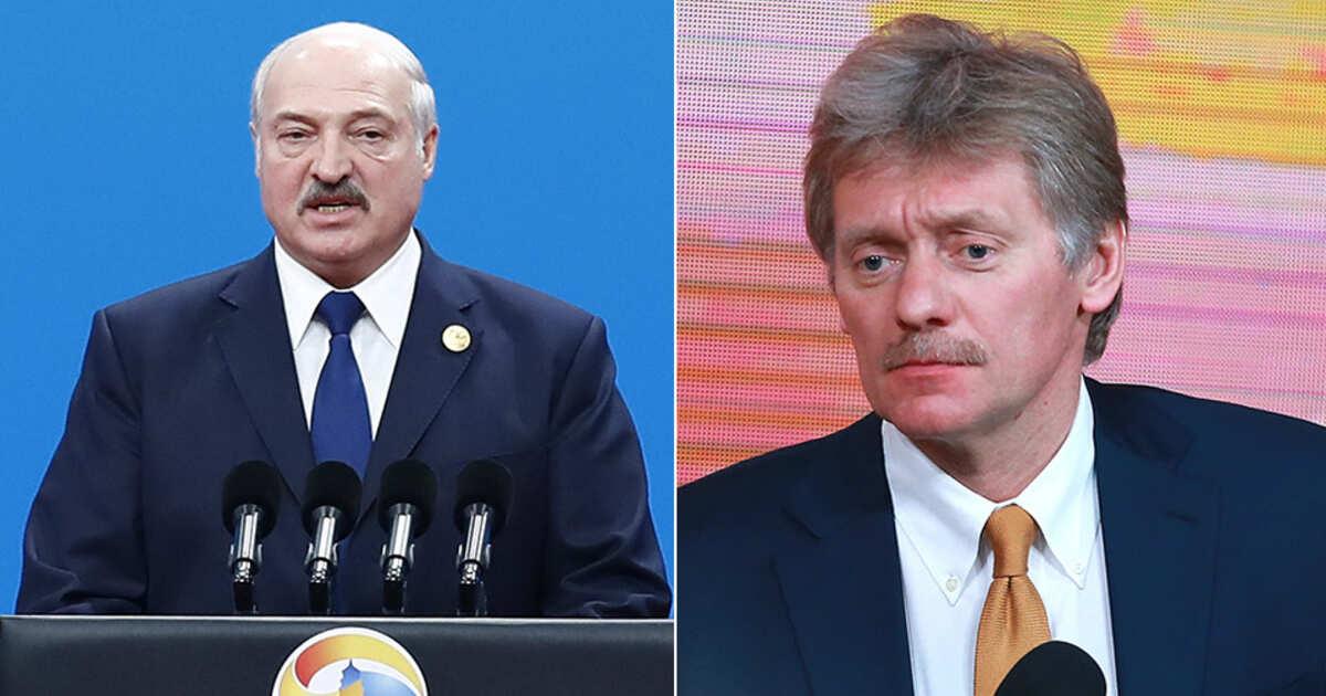 Песков заявил, что в Кремле не знали о коронавирусе у Лукашенко