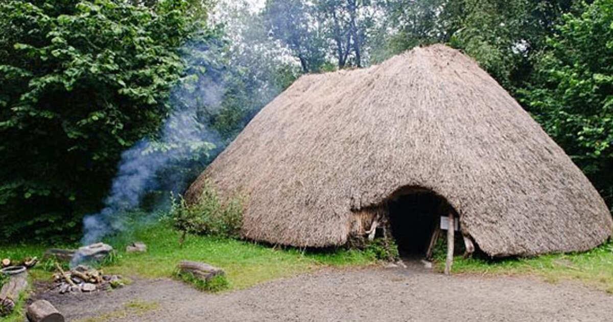 древние жилища человека картинки лишь