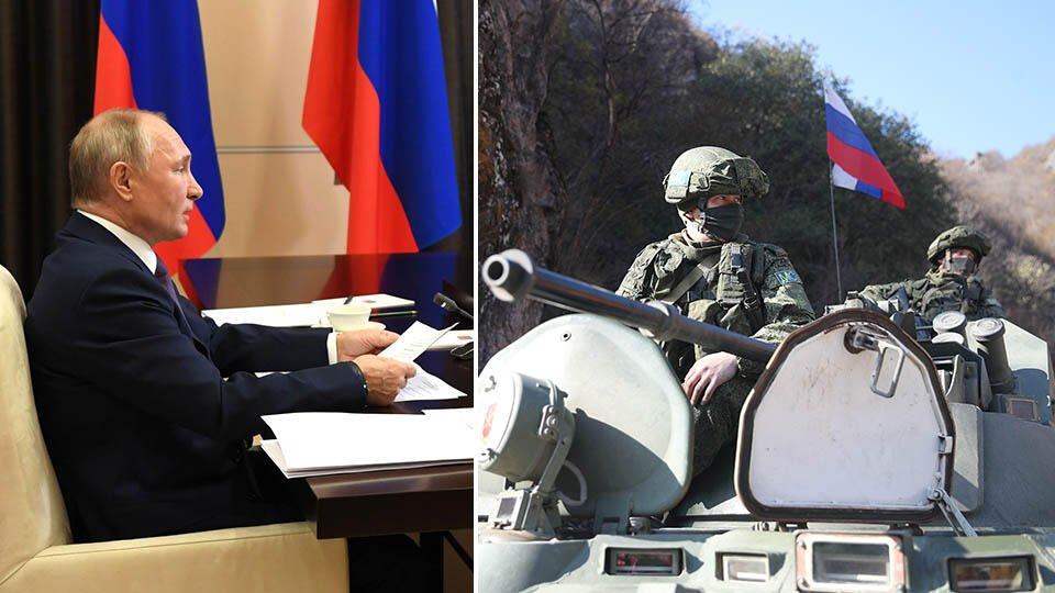 Путин назвал работу миротворцев РФ в Карабахе слаженной и эффективной