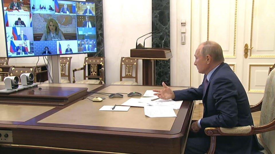 Путин призвал обеспечить российский рынок вакцинами против COVID-19