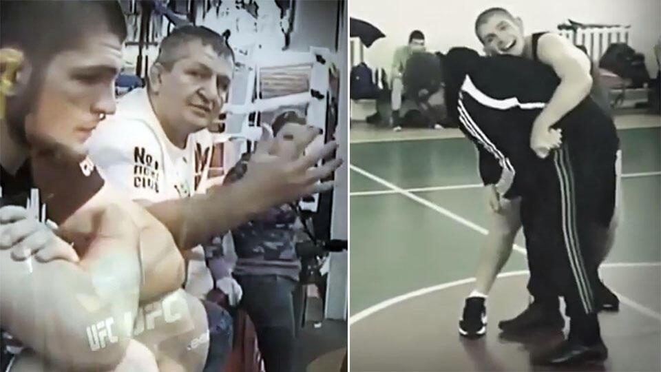 Хабиб Нурмагомедов опубликовал видео в память об отце