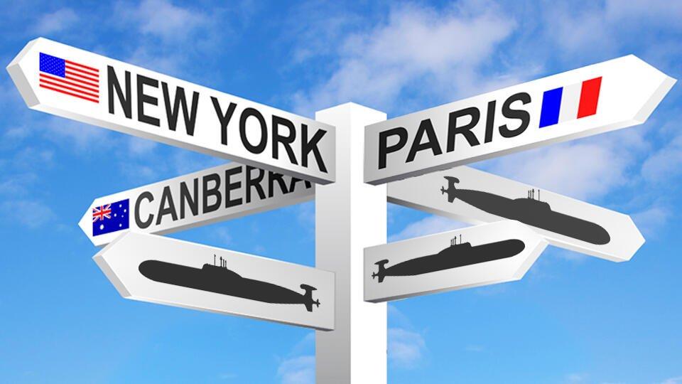 """""""Нож в спину"""": что известно про """"ссору"""" Франции с США и Австралией"""