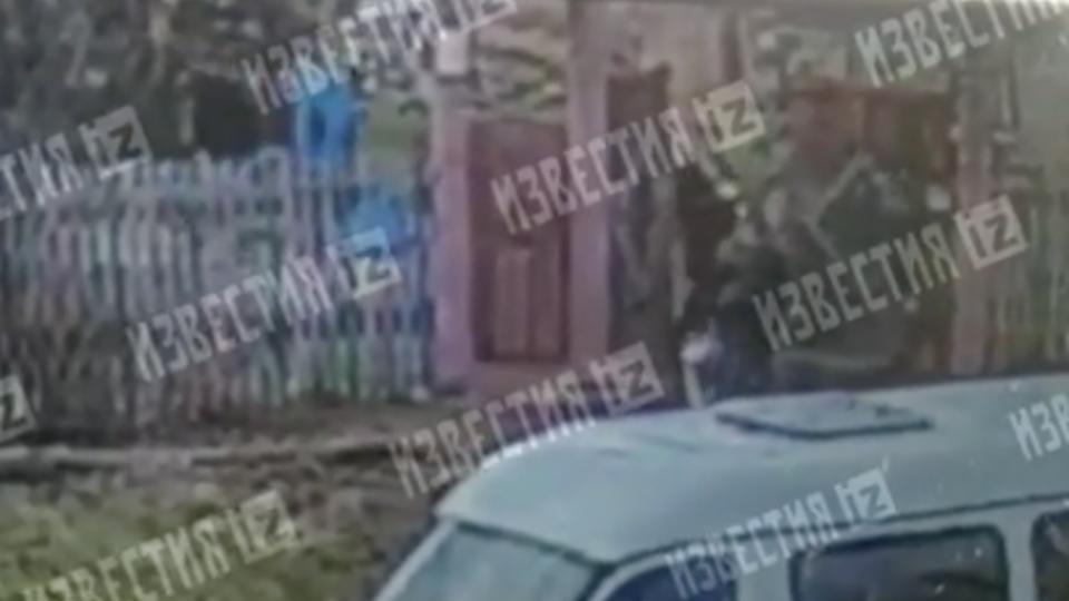 Видео задержания члена банды педофилов, выявленной в деле Меня