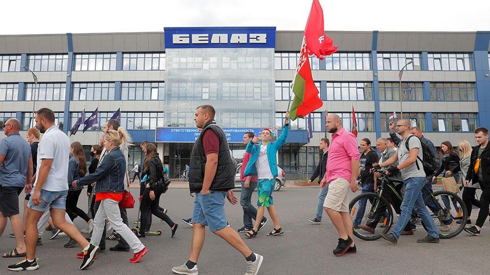 На заводе БелАЗ продолжилась забастовка