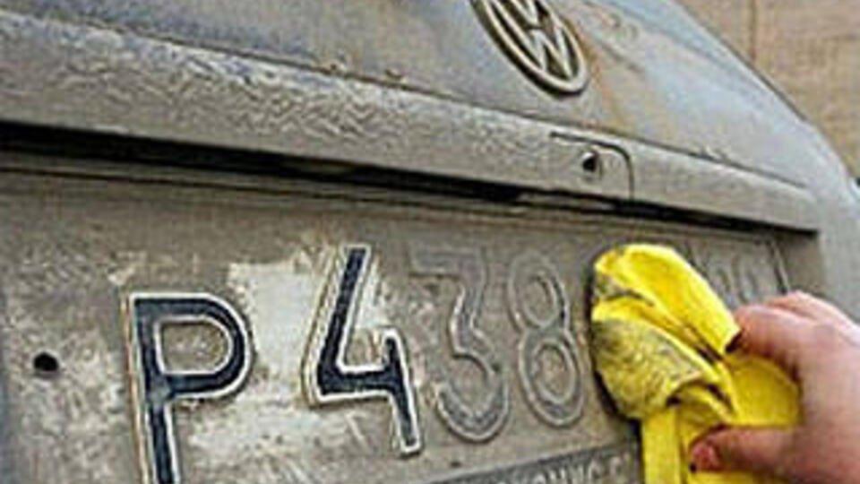 Россиян будут наказывать за грязные номера на автомобилях