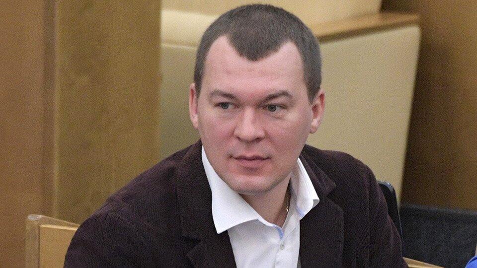 Дегтярев принял предложение стать врио главы Хабаровского края