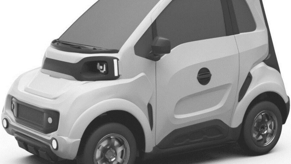 Опубликованы изображения нового российского электромобиля Zetta