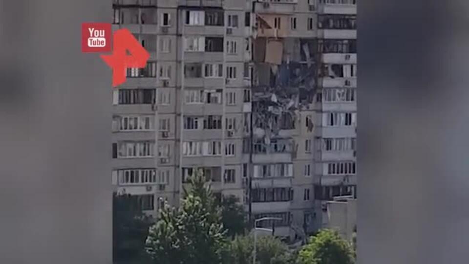 Названа вероятная причина взрыва в многоэтажке в Киеве