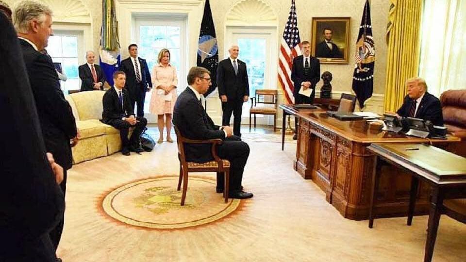 В Сербии ответили на шутку Марии Захаровой о встрече Вучича и Трампа