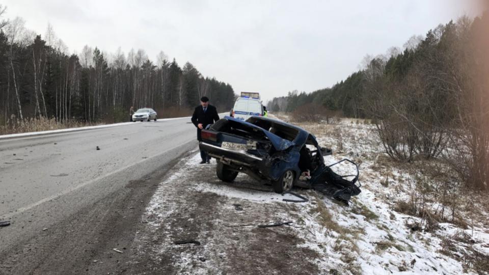 Под Красноярском в ДТП с подростком за рулем погибли 4 человека