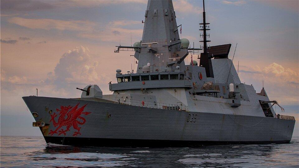 Опубликован маршрут движения эсминца, нарушившего границы РФ