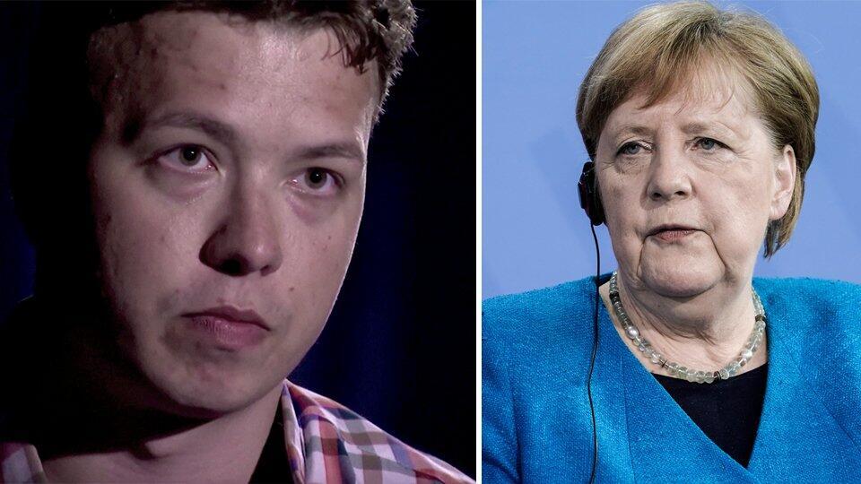 Родители Протасевича попросили помощи у Меркель