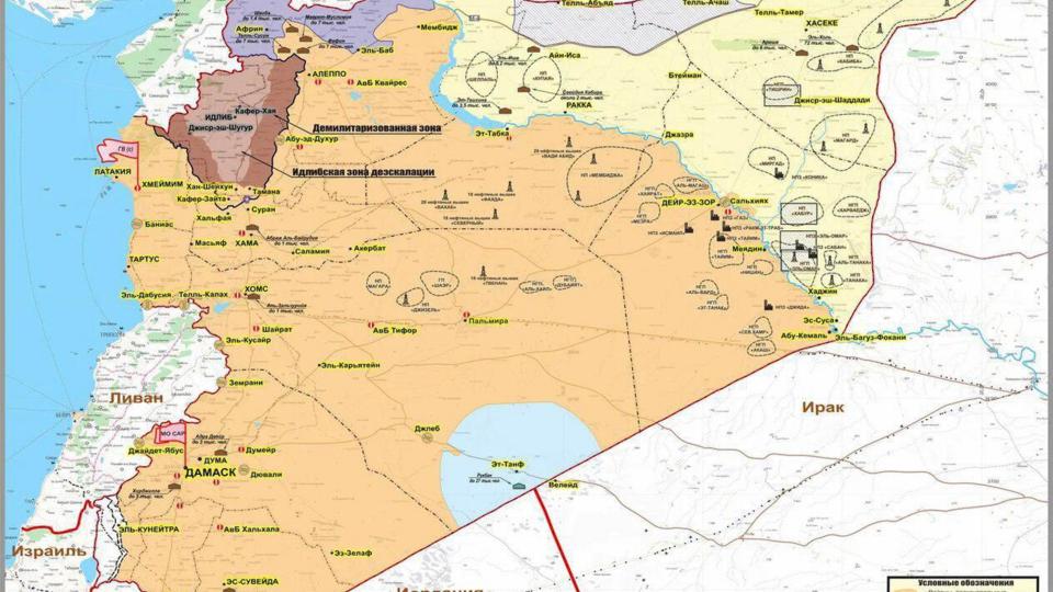 Раскрыт процесс контрабанды нефти в Сирии со стороны США
