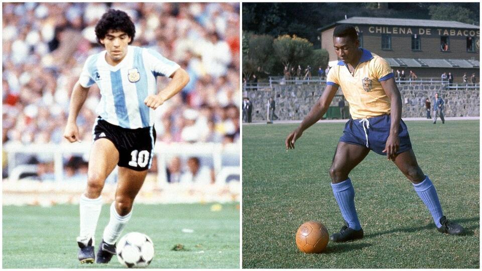 Марадона и Пеле угодили в топ самых переоцененных футболистов мира