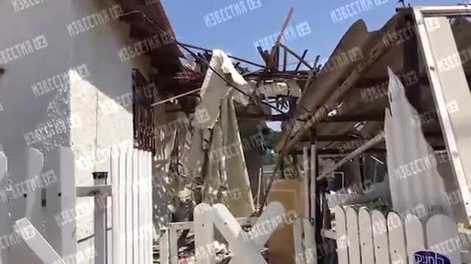 Видео последствий обстрела ХАМАС по израильскому городу Ашкелон