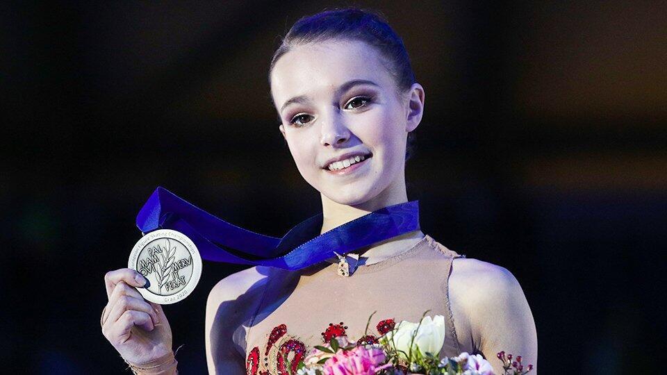 Фигуристка Анна Щербакова победила на этапе Кубка России