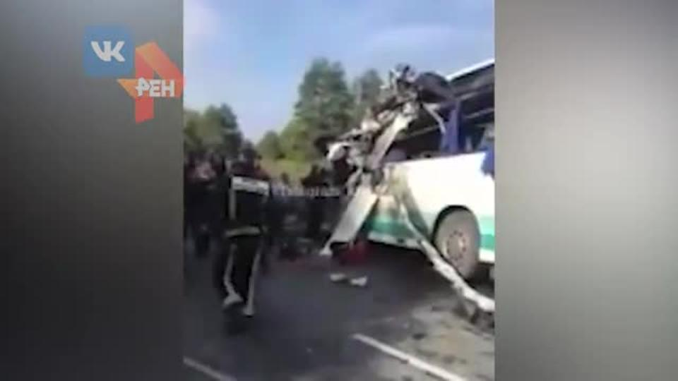 7 жертв: водитель автобуса умер в больнице после ДТП под Калининградом