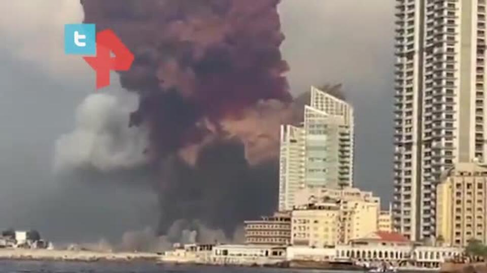 Трясся весь дом: очевидец рассказал о мощнейшем взрыве в Бейруте