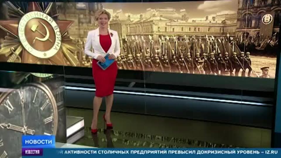 """Новые образцы """"прошли"""" в одном строю с техникой ВОВ на параде Победы"""