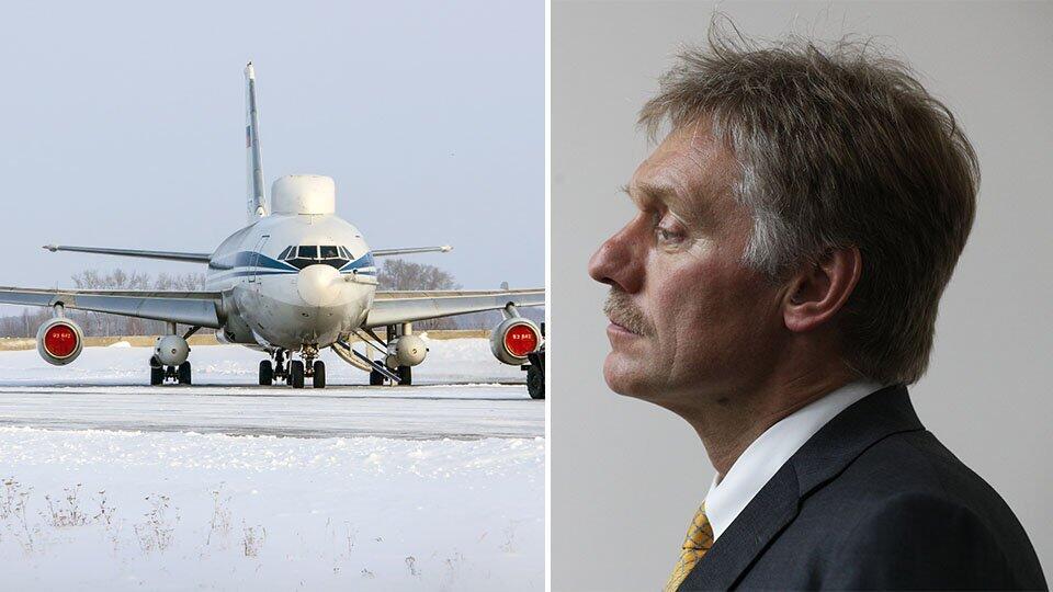 """В Кремле пообещали сделать выводы после кражи с """"самолета Судного дня"""""""