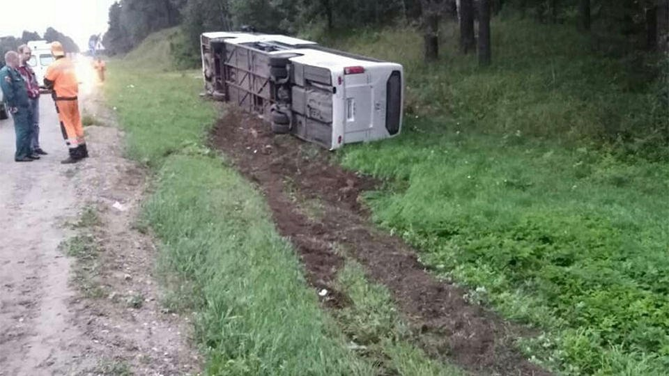 В МВД начали проверку после ДТП с экскурсионным автобусом в Ленобласти