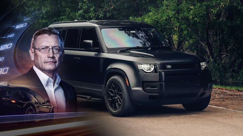 Разбор на винтики.Тест-драйв Land Rover Defender 2021. Минтранс. (11.09.2021)