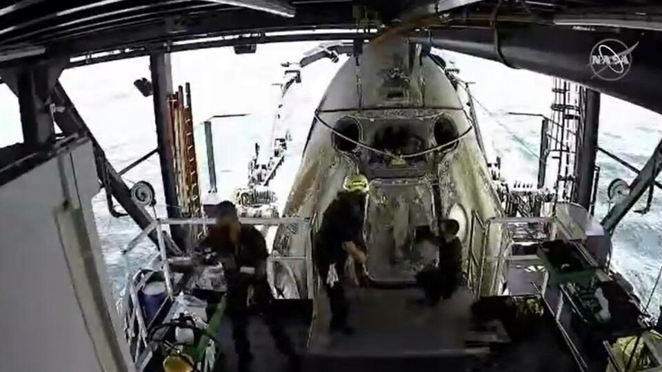 Crew Dragon стал слишком токсичным после возвращения на Землю
