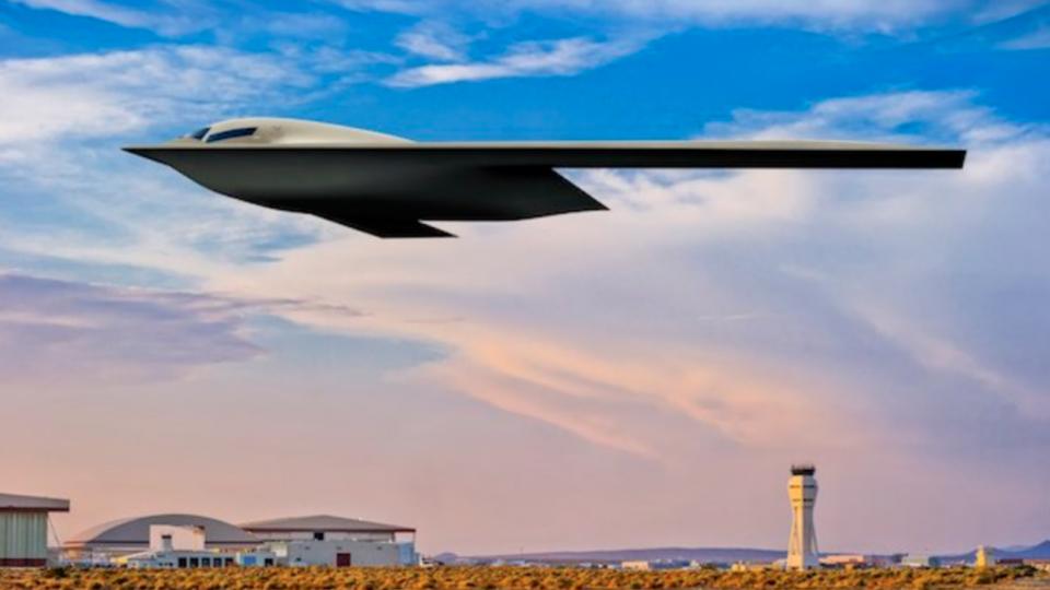 ВВС США показали новый суперсамолет B-21 Raider