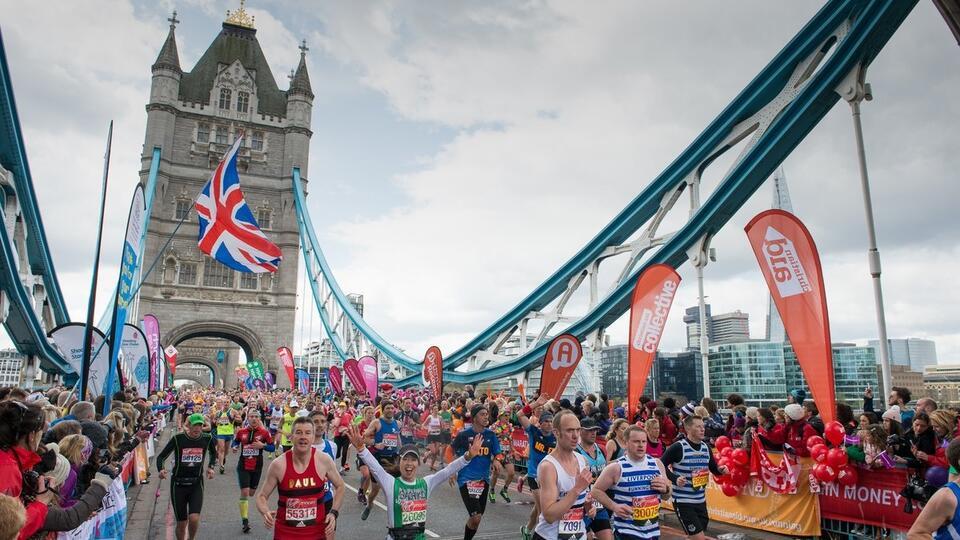 В Лондонском марафоне смогут принять участие только профессионалы
