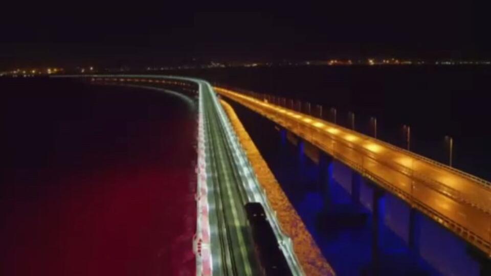 Пассажиры поделились эмоциями от проезда поезда по Крымскому мосту
