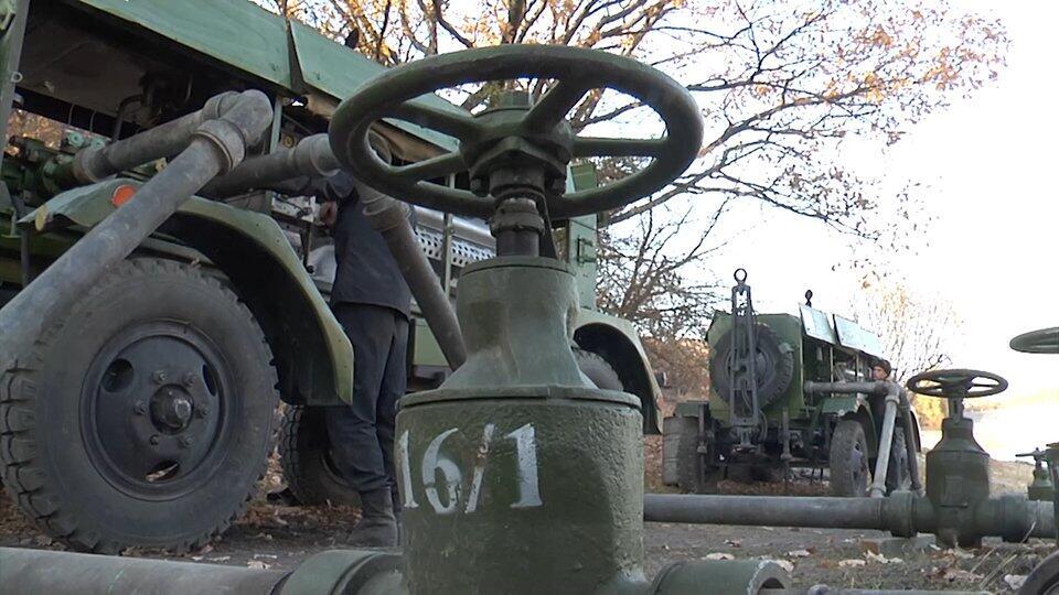 Видео: в Крыму завершают прокладку магистрального водопровода