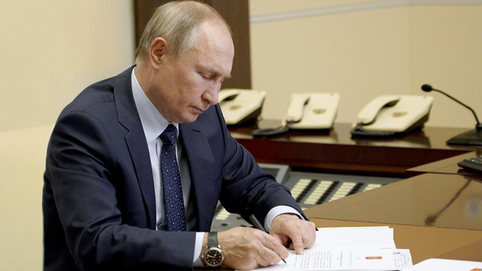 Путин подписал указ о недружественных иностранных государствах