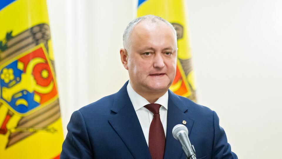 Додон назвал ошибкой слова Санду о миротворцах РФ в Приднестровье