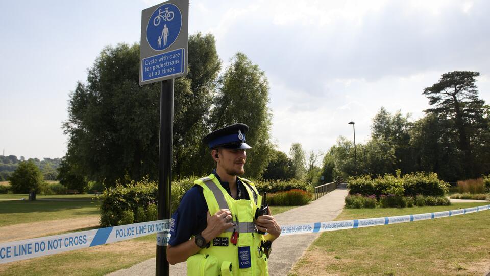 На месте убийства людей в парке Рединга задержали мужчину