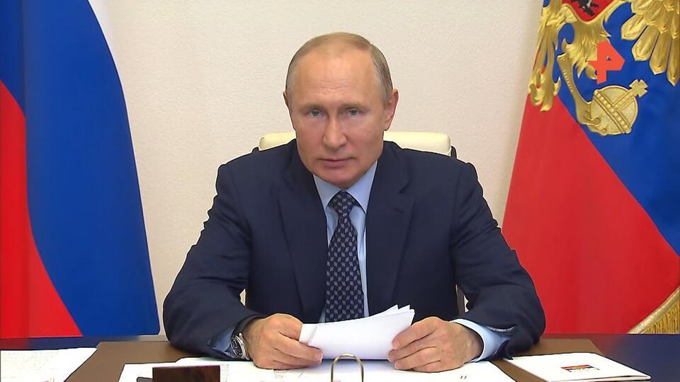 Путин поручил не наказывать компании за нарушения уровня добычи нефти