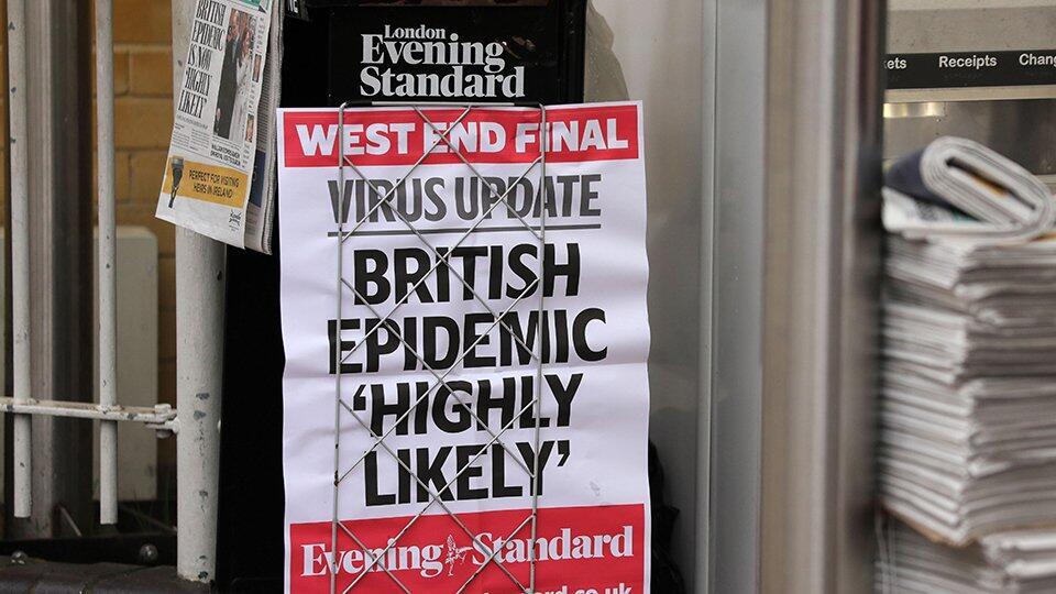 Великобритания назвала новые сроки карантина из-за COVID-19