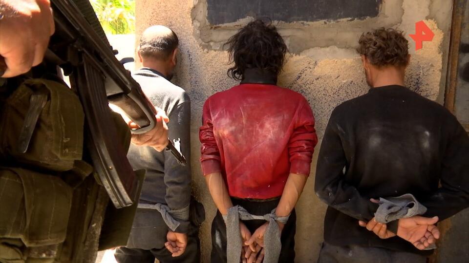В Сирии задержали боевиков, собиравших данные о военных объектах РФ