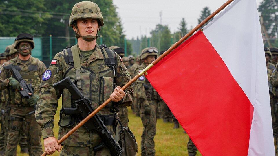 На Украину высадился польский десант