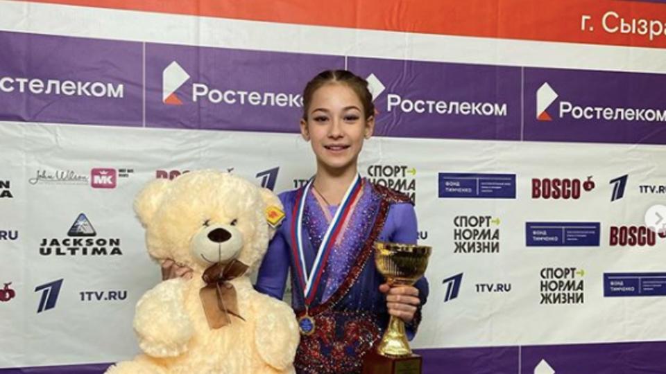 13-летняя ученица Тутберидзе установила рекорд на этапе Кубка России
