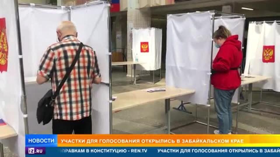 В России стартовал основной день голосования по поправкам