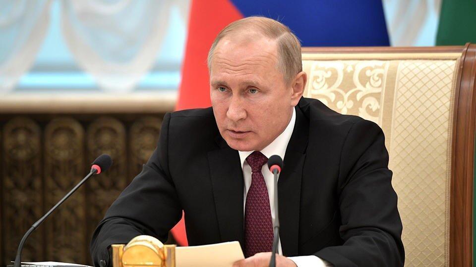 """Путин оценил содержательную программу форума """"Территория смыслов"""""""