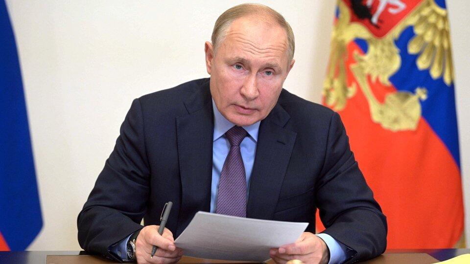 Путин подписал указ о нерабочих днях с 30 октября по 7 ноября