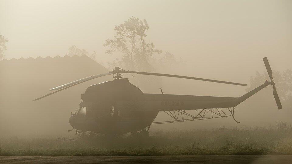 Вертолет совершил жесткую посадку на Алтае
