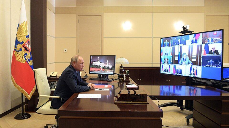 Путин: Планвосстановления экономики должен учитывать новую реальность