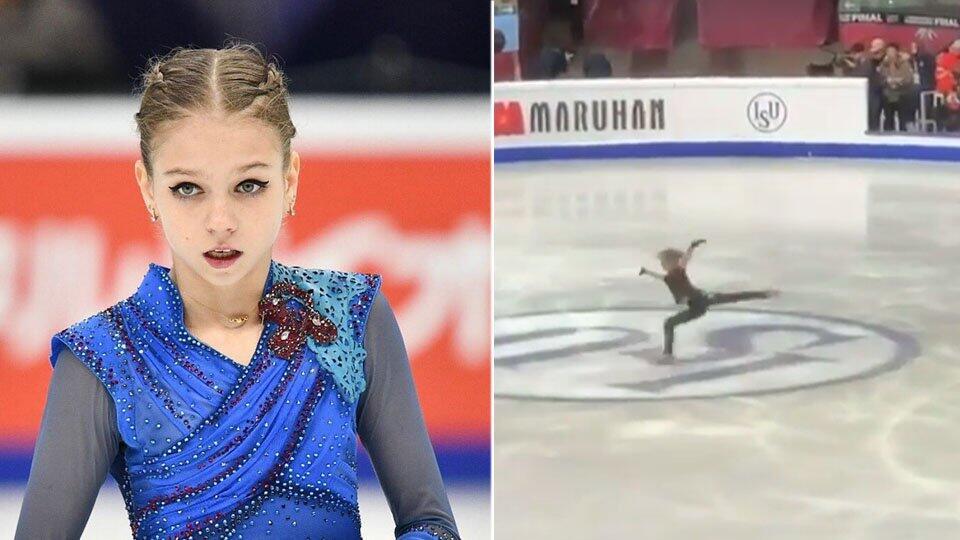 Видео: фигуристка Трусова поразила болельщиков четверным прыжком