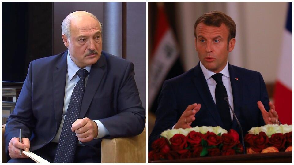 Макрон: Лукашенко должен уйти