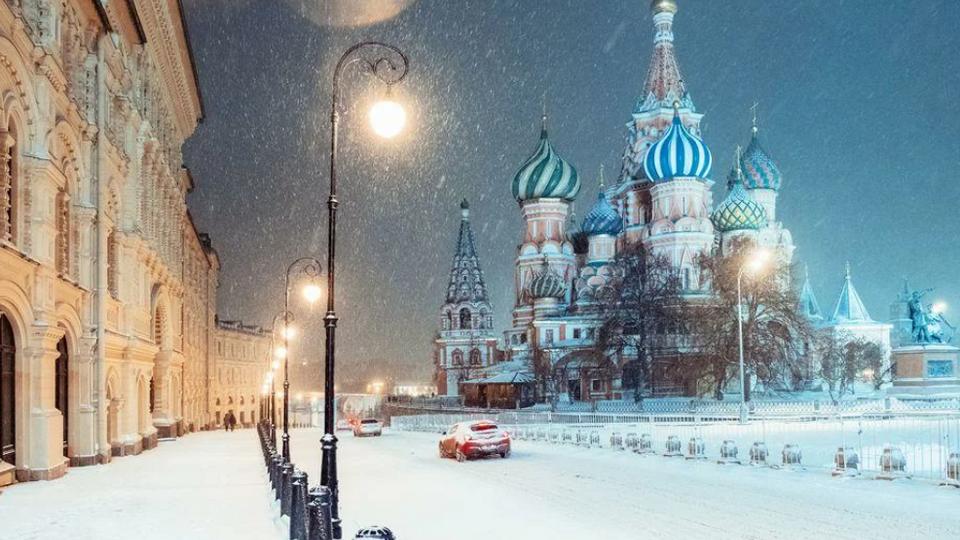 В понедельник москвичей ждет сухая и морозная погода