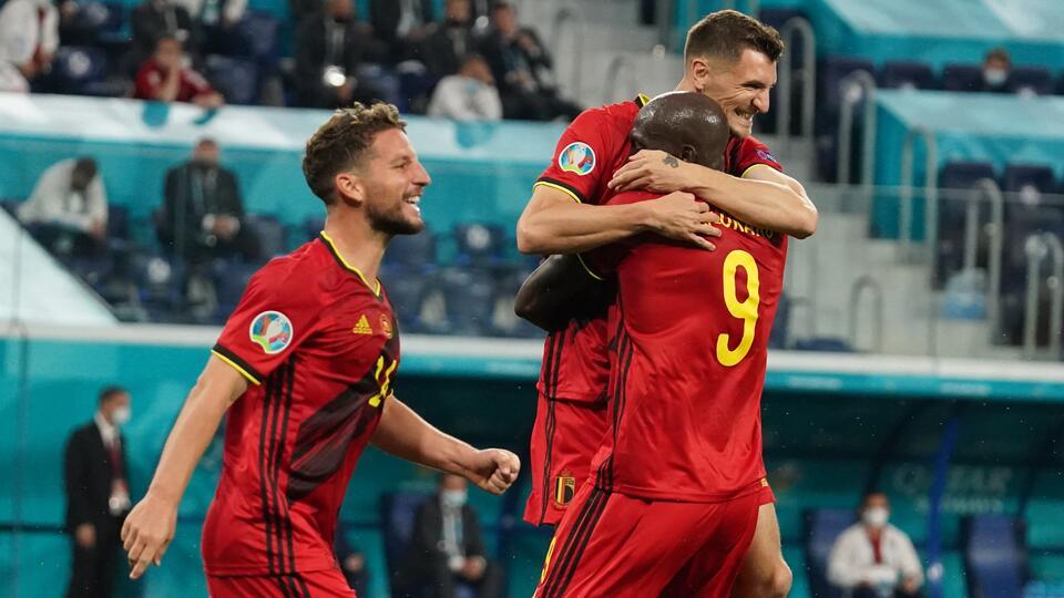 Бельгия разгромила сборную России на Евро-2020