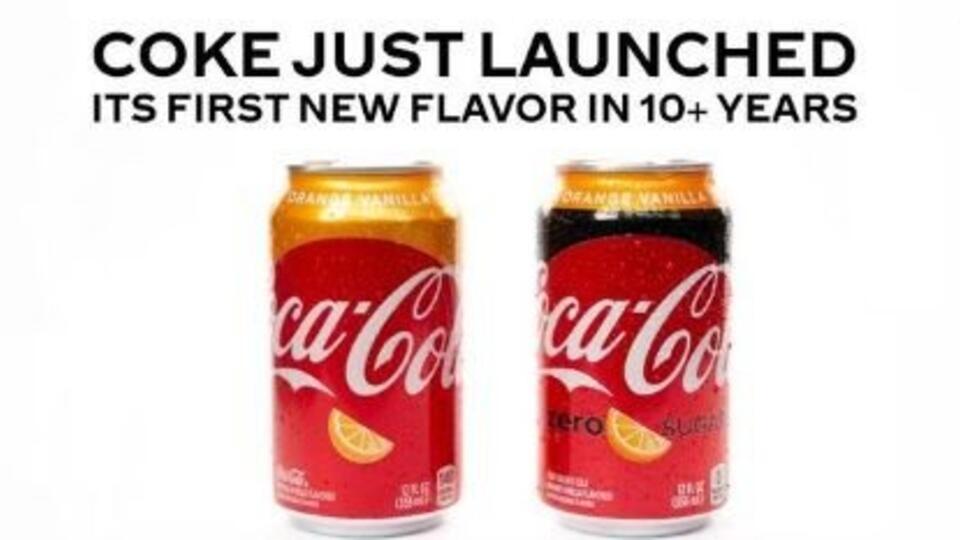 Coca-Cola впервые за десятилетие запускает производство нового напитка