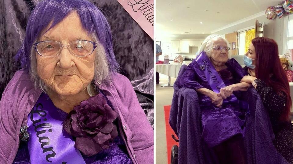 Люди со всего мира поздравили со 100-летием одинокую бабушку из приюта